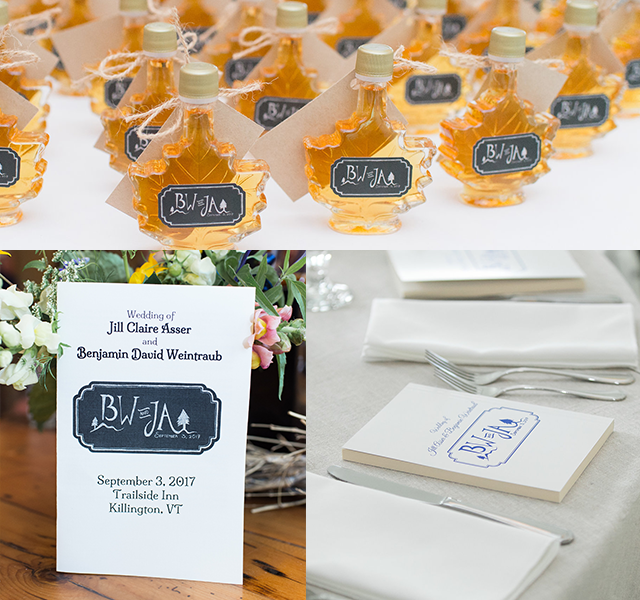 maple syrup party favors
