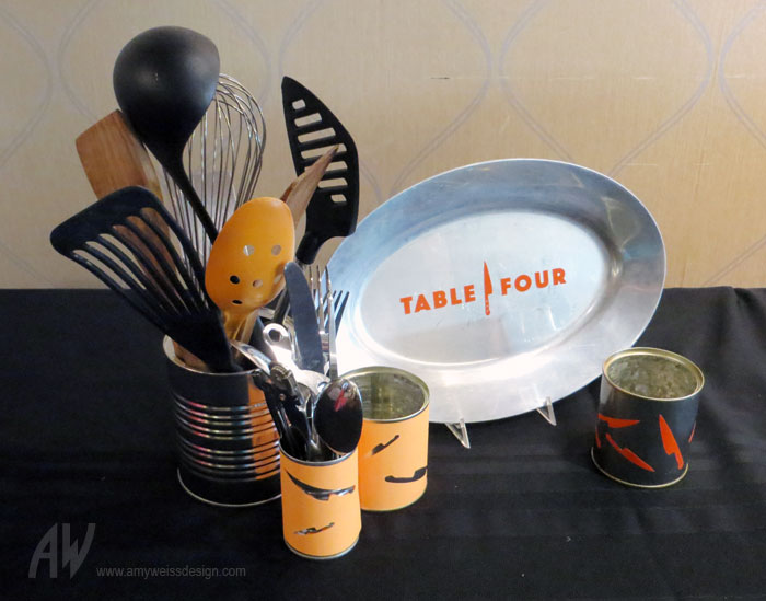 cooking theme centerpiece